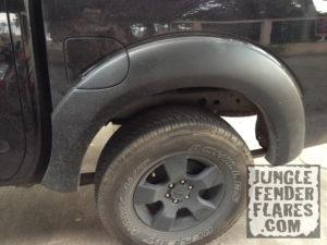 Nice Rear Fuel Door Fender Flares On A 2005+ Nissan Frontier