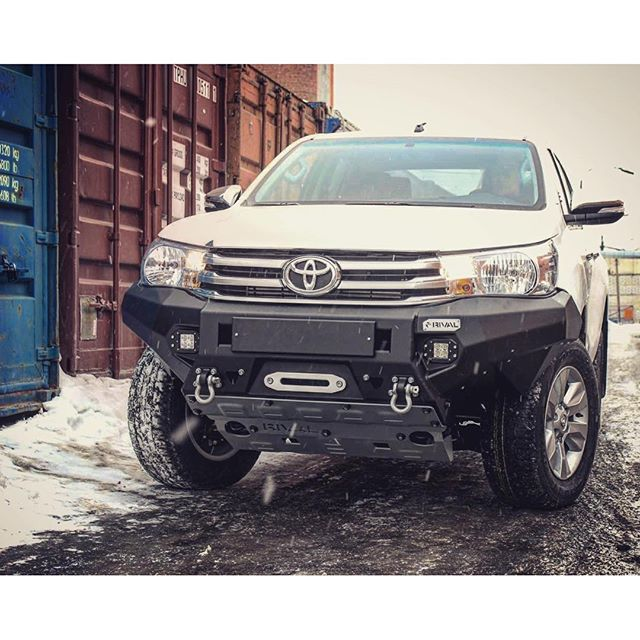 Rival Alloy Bumper For Toyota Hilux 🇷🇺 Алюминиевый бампер Ri