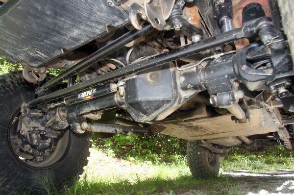 Nissan frontier axle