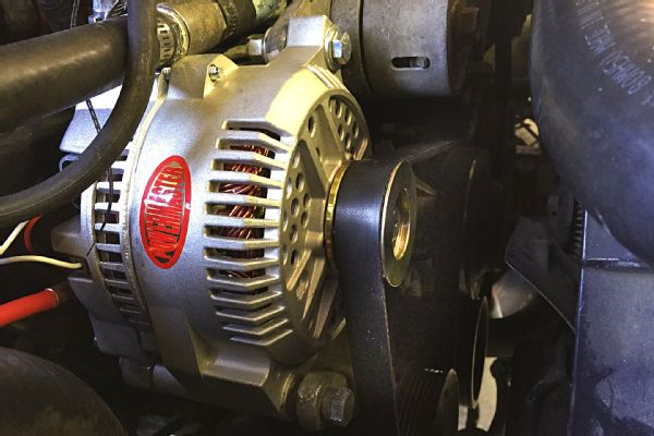 Ford Alternator Upgrade for More Battery Charging Power